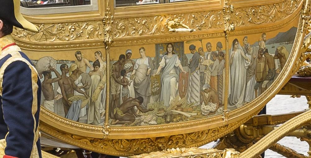 Gouden koets op het Binnenhof - cc