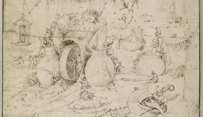 Tekening van Jeroen Bosch opgedoken