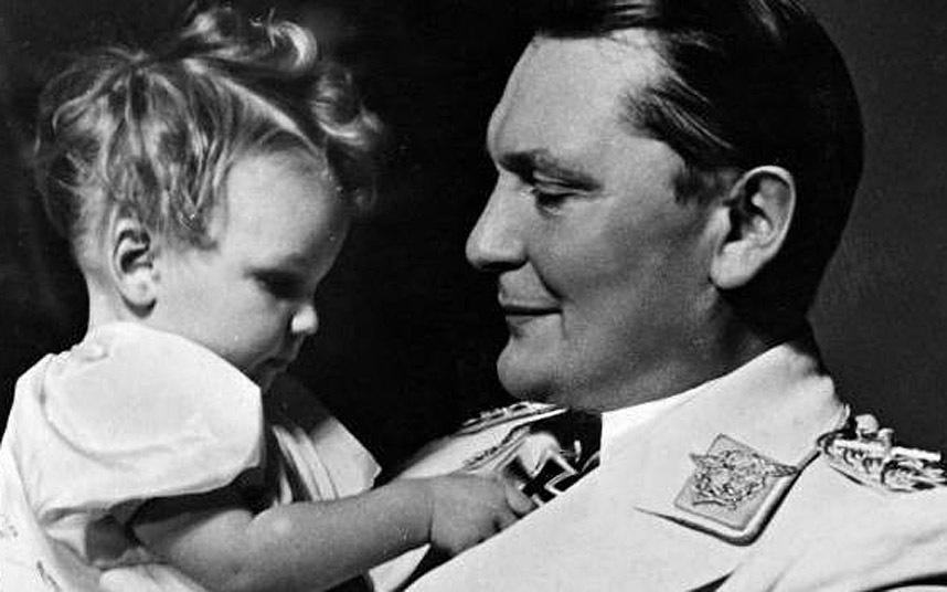 Hermann Göring en zijn dochter Edda