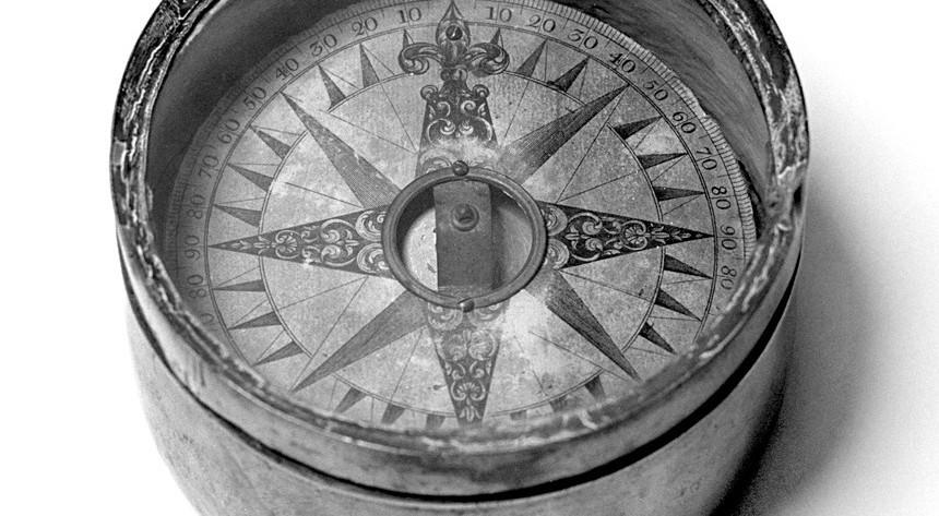 Kompas - © Henk Boudewijns