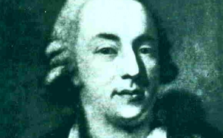 Portret van Casanova - Alessandro Longhi