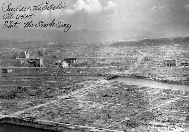 Hiroshima, na het bombardement