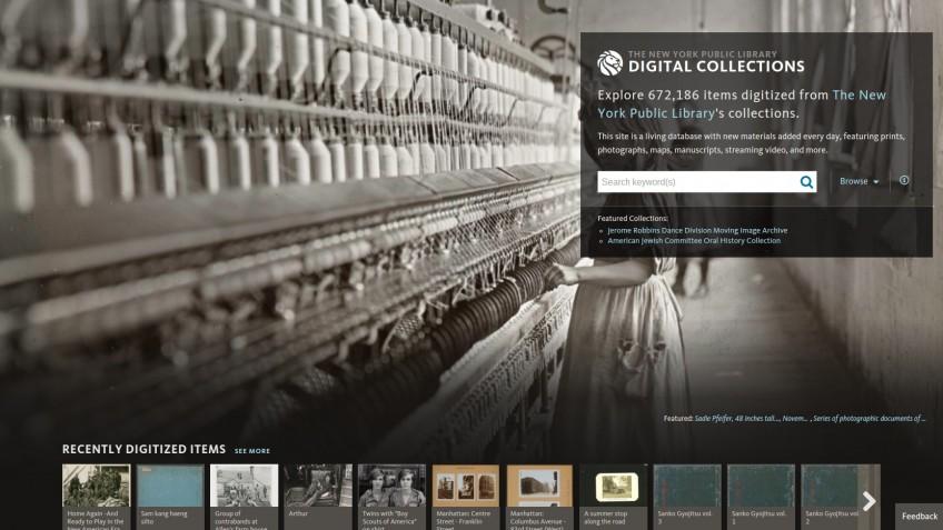 180.000 historische objecten New York Public Library gratis te downloaden