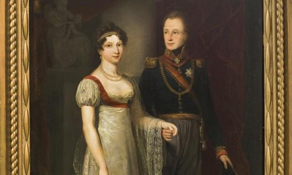 Anna Paulowna en Willem II - Jan Willem Pieneman (Tilburg, Stadsmuseum, collectie gemeente Tilburg)
