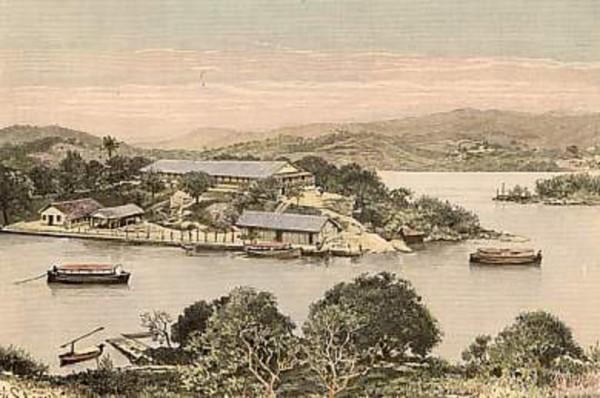 Ilha das Flores in Rio de Janeiro, het Ellis Island van Brazilië
