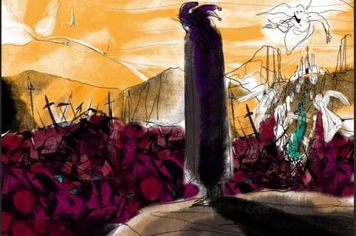 Striptekenaars maken eigen versie van Utrechts Psalter
