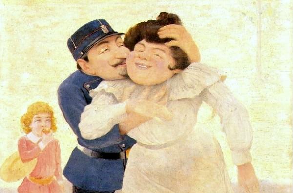 Belmiro de Almeida - Namoro do Guarda