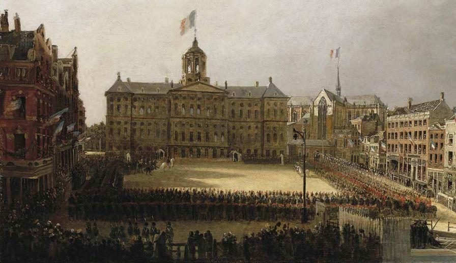 Afbeeldingsresultaat voor napoleon in amsterdam