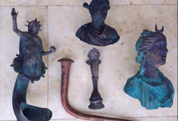 Archeologische schat gevonden in oude haven Caesarea