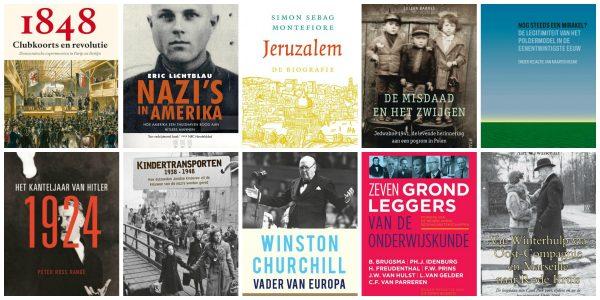 Nieuwe geschiedenisboeken week 28/29