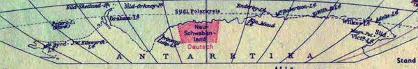 Een stukje nazi-Duitsland op Antarctica