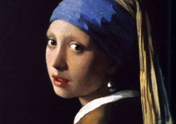 Het meisje met de parel van Johannes Vermeer