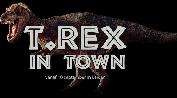 T-Rex naar Naturalis gebracht door Freek Vonk