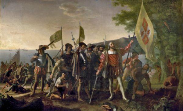 Columbus in 1492