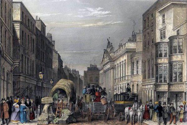 J Hopkins, Leadenhall Street, 1837