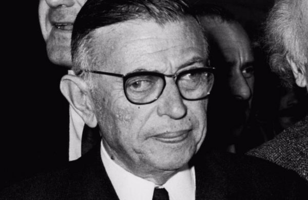 Jean-Paul Sartre in 1967 - cc