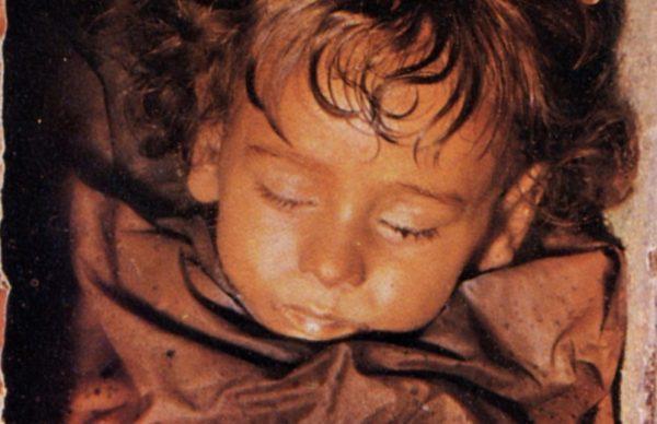 Rosalia Lombardo in 1982