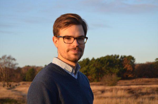 Vincent Bijman, voorzitter Jonge Historici