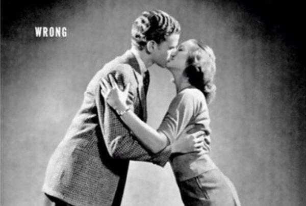 Professioneel kussen: zo doe je dat... (1940s)