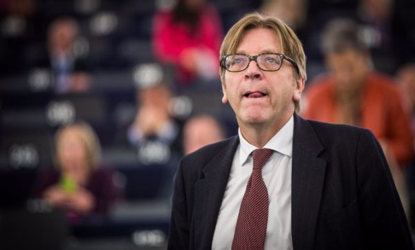 Guy Verhofstadt in 2014 (Claude Truong-Ngoc | wiki | cc-by-sa-3.0)