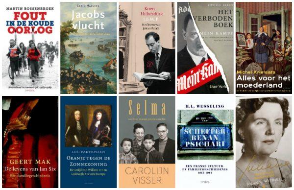 Longlist Libris Geschiedenis Prijs 2017