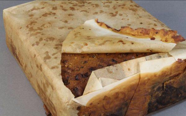 De cake rook volgens de onderzoekers ook nog vrij aardig (Foto Antarctic Heritage Trust)