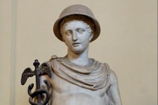 Beeld van Hermes