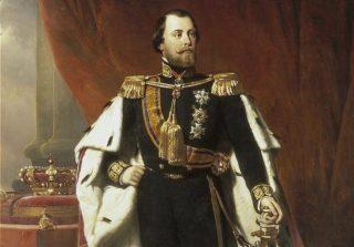 Koning Willem III - Nicolaas Pieneman (1856)