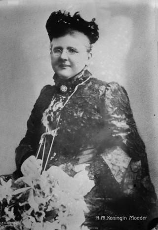 Koningin-moeder Emma