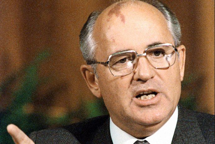 Michail Gorbatsjov in 1986 (cc)
