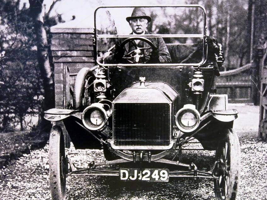 T-Ford - uitvinding van Henry Ford