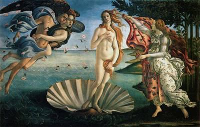 Sandro Botticelli - De geboorte van Venus (1485)