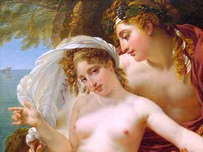 Ariadne en Dionysus