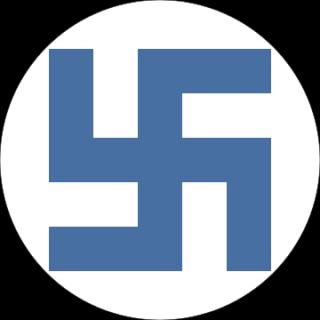 Finse swastika van de luchtmacht, gebruikt tussen 1918 en 1944