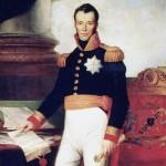 Willem I met de grondwet van 1815