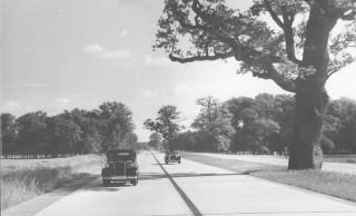 Reichsautobahn Berlin-München, 1939 (Bundesarchiv)
