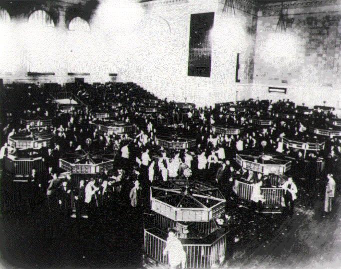 Wall Street tijdens de crisis - cc
