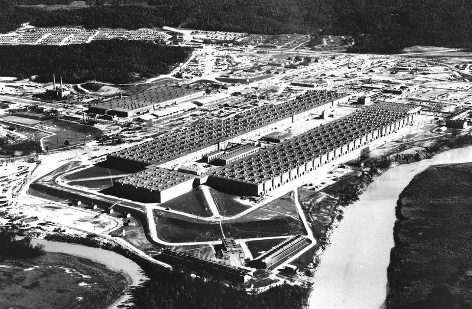 Manhattan Project - Oak Ridge (Publiek Domein - wiki)