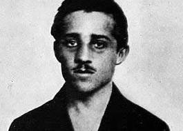 Gavrilo Princip, de man die de aanslag op Franz Ferdinand pleegde