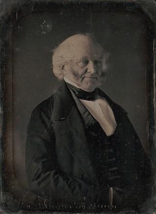 Daguerreotype van Martin Van Buren