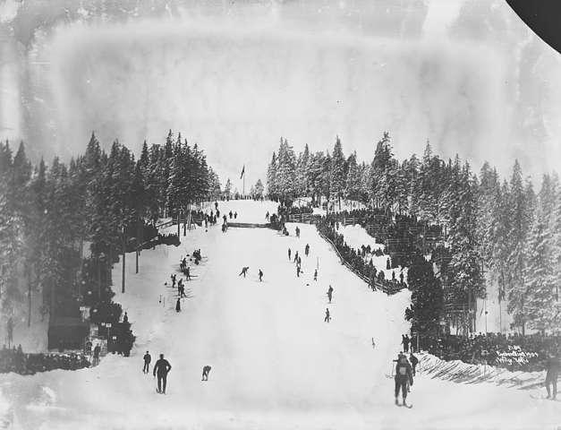 Holmenkollen in 1904