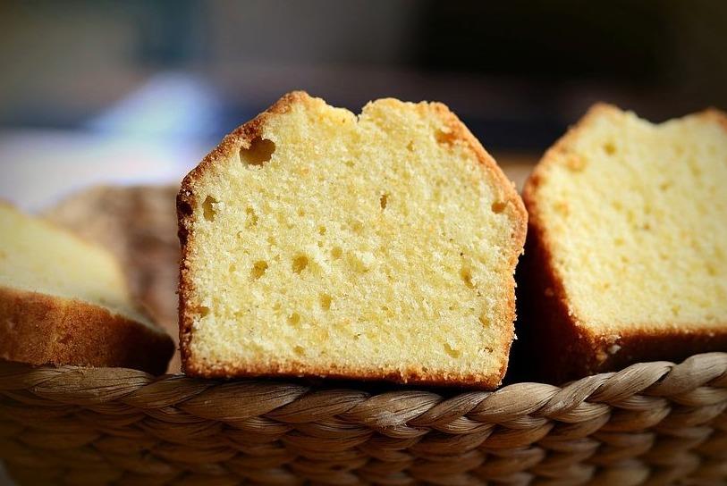 Plakje cake