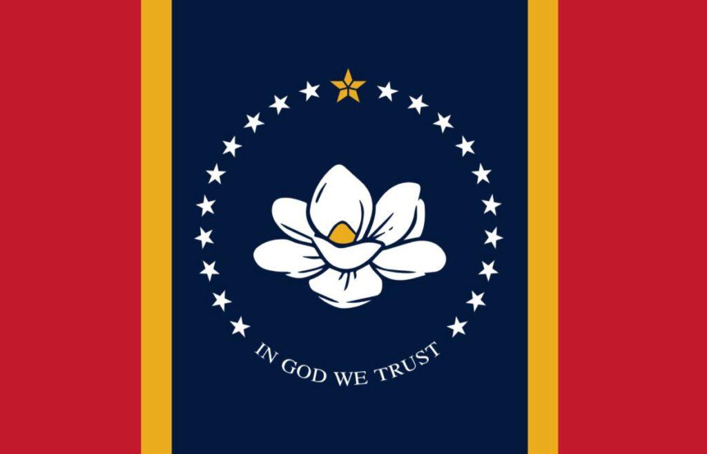 Vlag van Mississippi - Amerikaanse staat