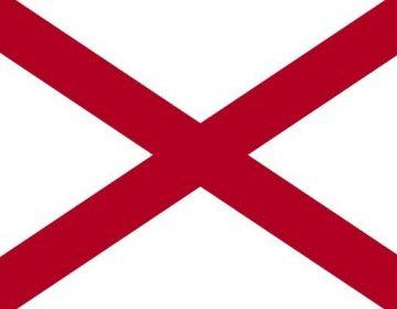Vlag van Alabama - Amerikaanse staat