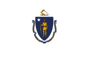 Vlag van Massachusetts - Amerikaanse staat