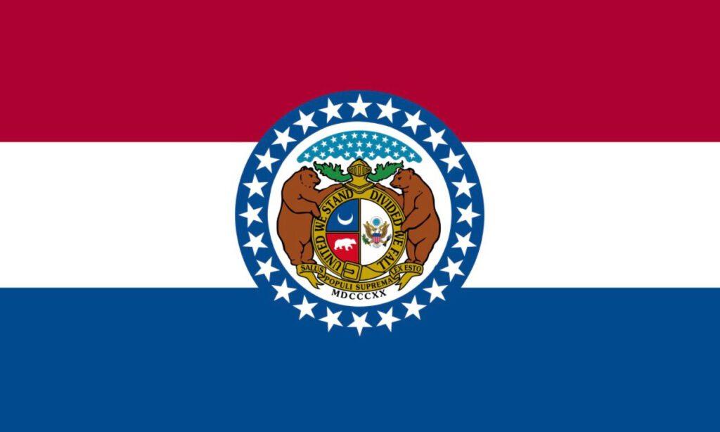 Vlag van Missouri - Amerikaanse staat
