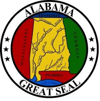 Zegel van Alabama