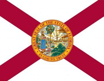 Vlag van de Amerikaanse staat Florida