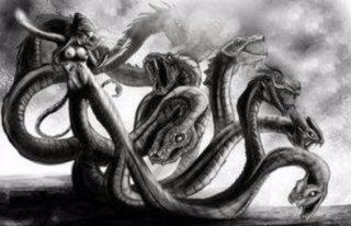 Het monster Kampe (Maker onbekend)