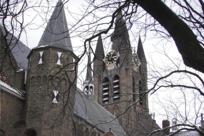 Prinsenhof in Delft (Publiek Domein - wiki)